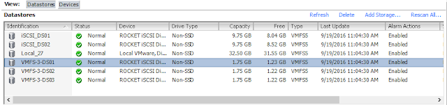 Tag Storage Devices as SSD in VMware