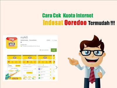 Cara Cek Kuota Internet Indosat Ooredoo Termudah