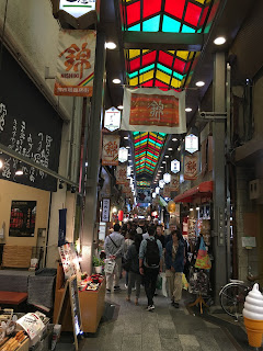 Nishiki Food Market in Kyoto
