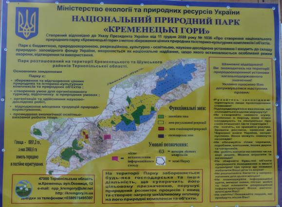 Кременец. Туристическая информация