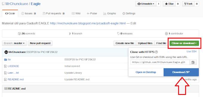 Descargar archivos de GitHub