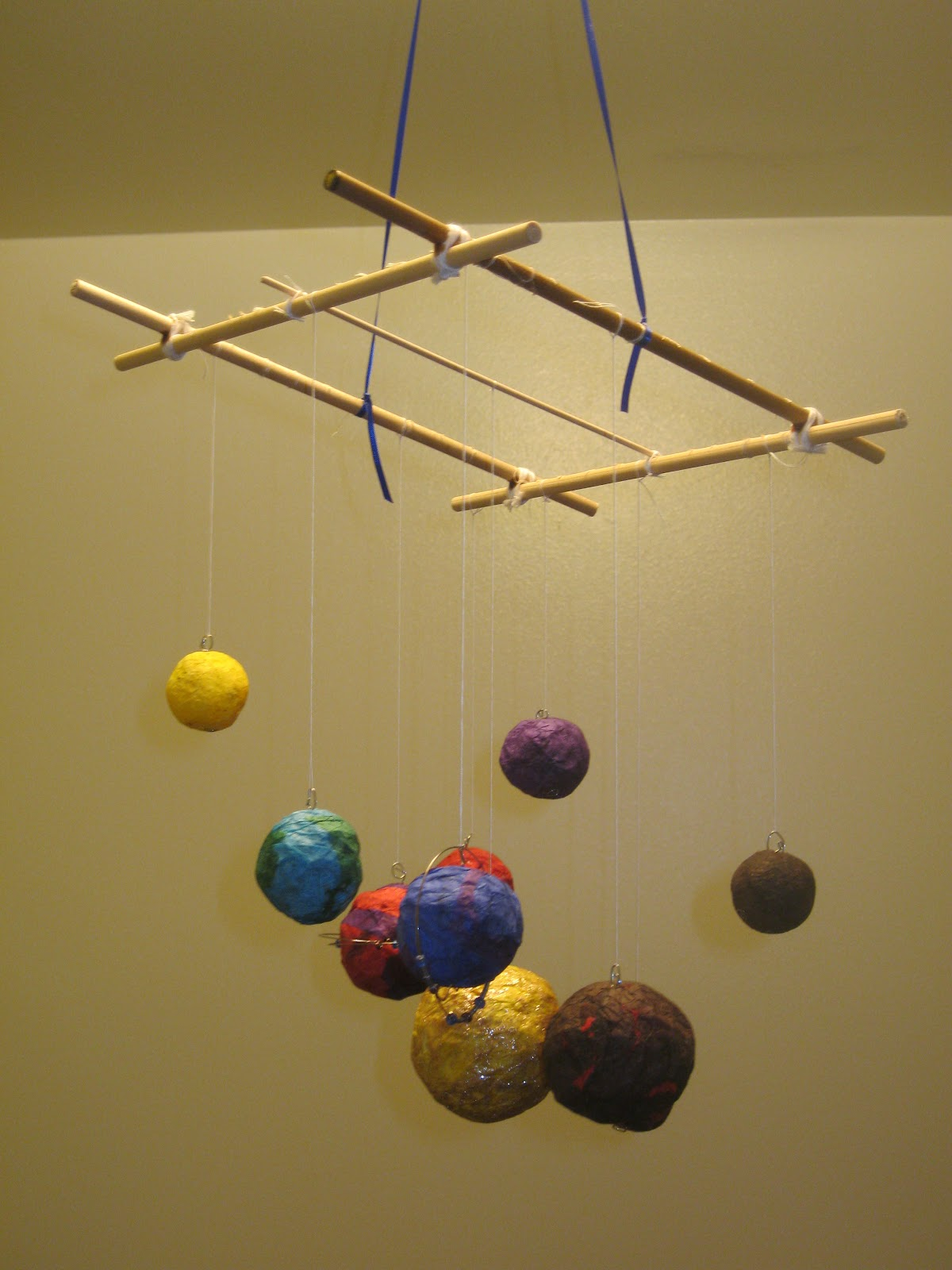 paper solar system mobile - photo #1