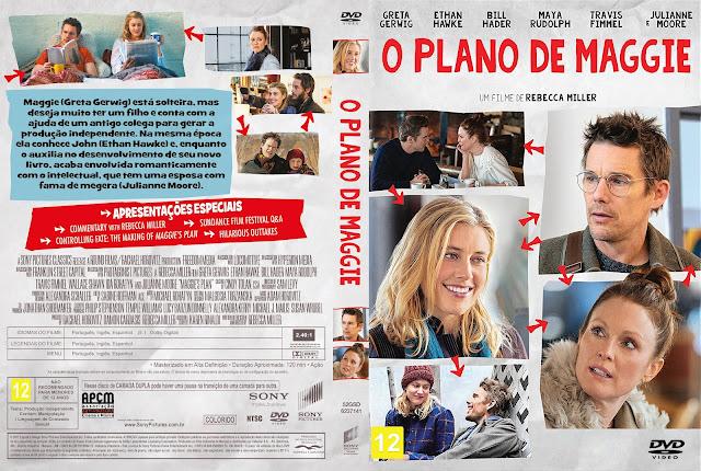 Capa DVD O Plano De Maggie