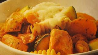 ITALIAN CHICKEN-VEGGIE MARINARA DISH