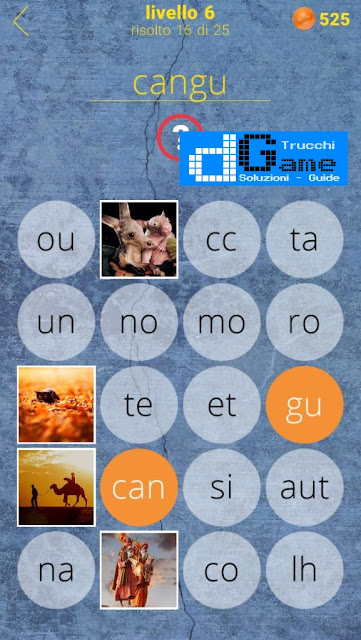 650 Parole soluzione livello  (1 - 25) | Parola e foto