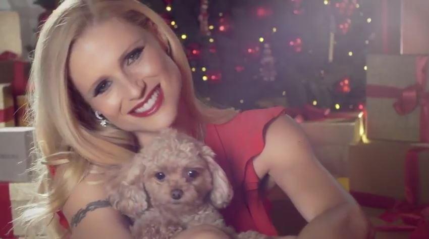 Modella Morellato pubblicità Speciale Natale 2016 con Foto - Testimonial Spot Pubblicitario Morellato 2016
