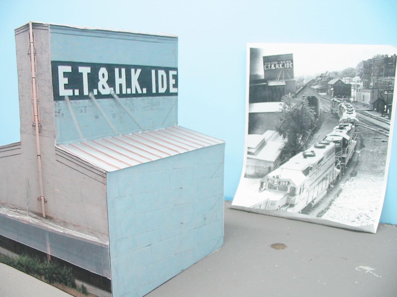 Mike mcnamara's northeast kingdom model railroad: et & hk ide building