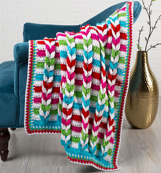 Pulled Taffy Blanket
