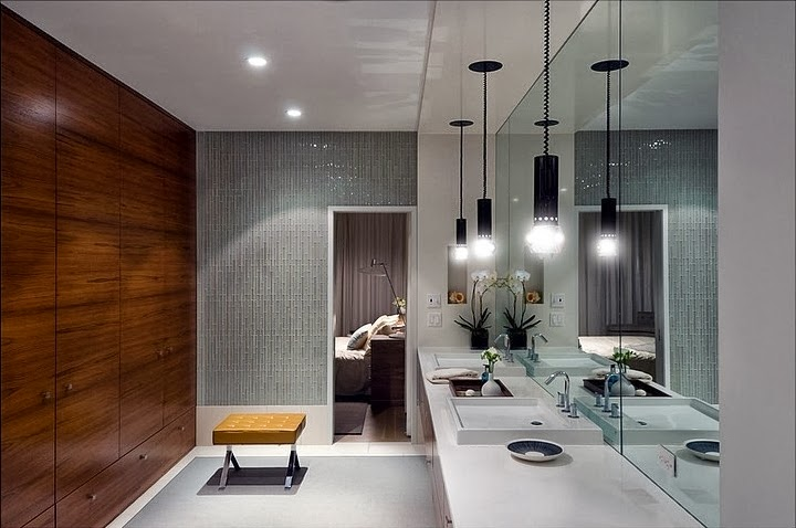 Bathroom in Modern house by Blaze Makoid Architecture