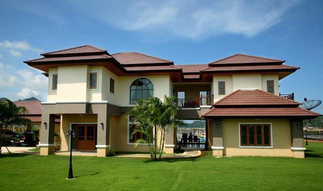 แบบบ้านสองชั้นสวยๆ