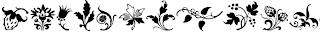 Download font Nature (alam) keren 5