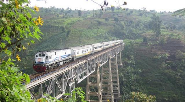 Argo Gede Train Railroad