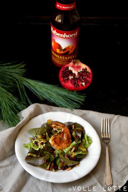 Weihnachten, Menü, Vorspeise, Saft, Rabenhorst, Granatapfel, kochen, Festtage
