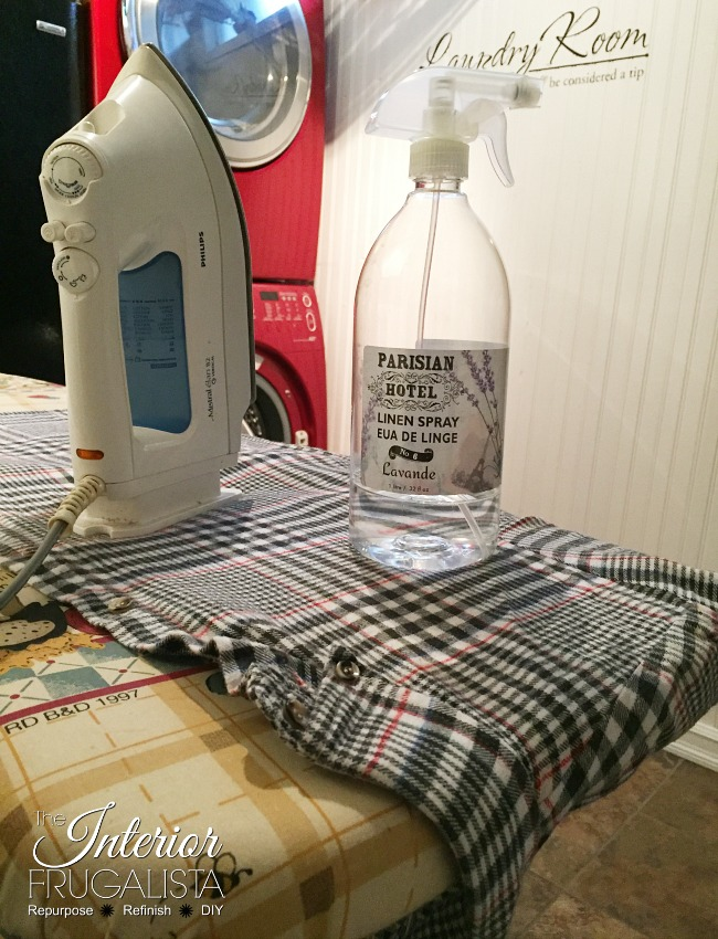 Flannel Shirt Ironed For Trunk Table Liner