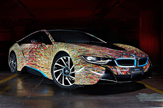 BMW i8 Futurism Edition (2016) Front Side