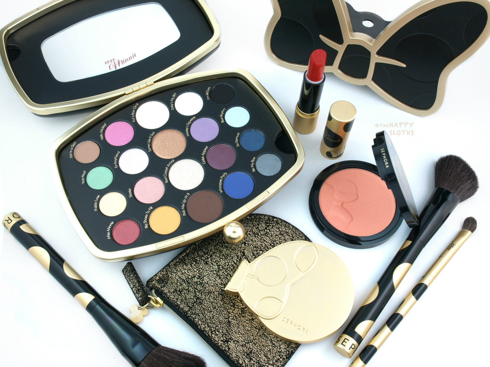 Sephora Minnie Mouse Collection Review And Swatches The