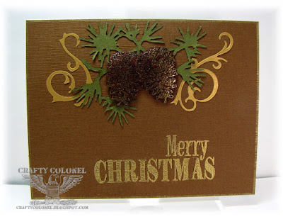CraftyColonel Donna Nuce for Club Scrap Christmas Thyme bloghop.