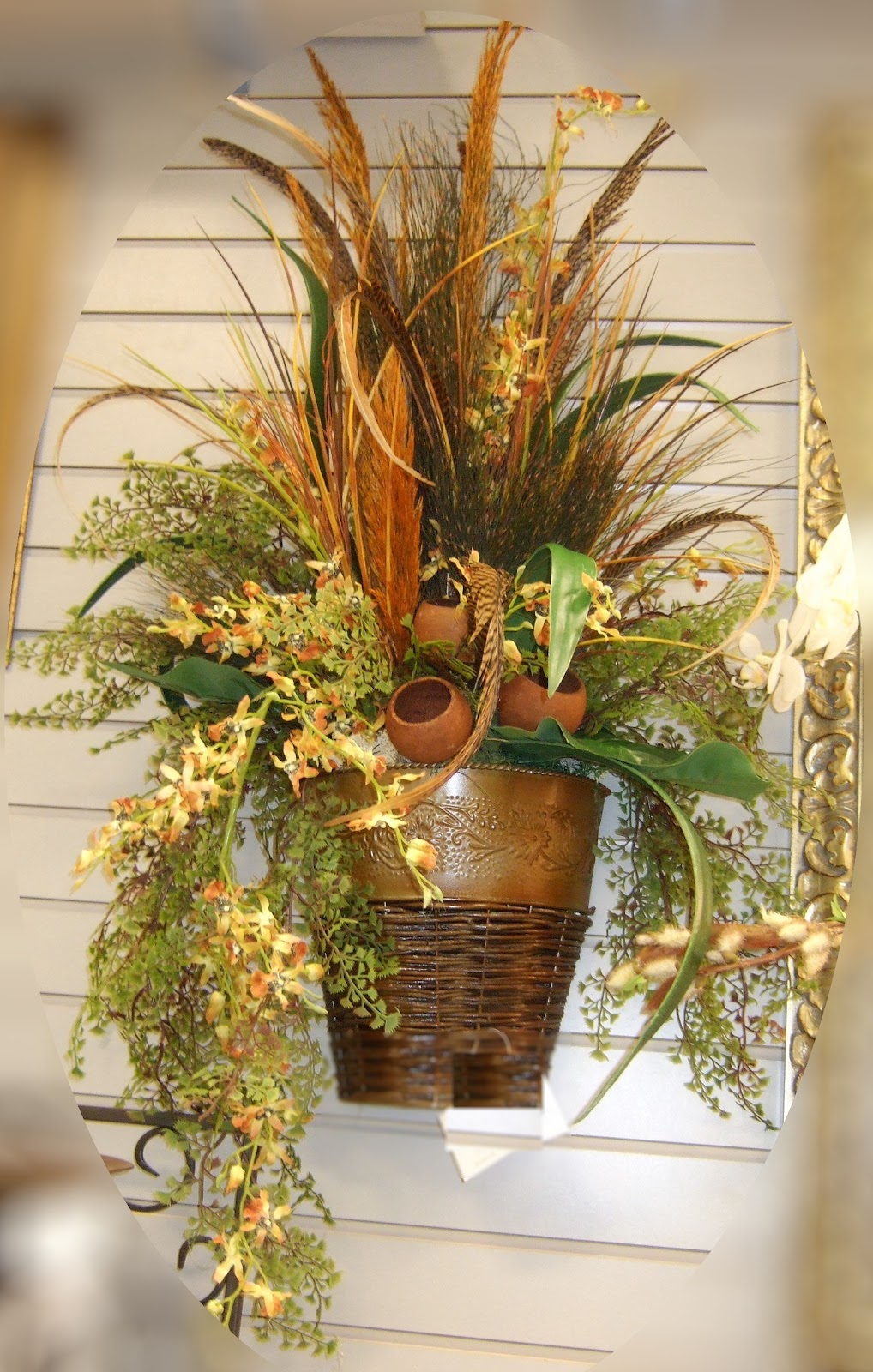 AnaSilkFlowers: Images!!!...Wall Sconces Silk Flowers ... on Wall Sconce Floral Arrangements Arrangement id=82116