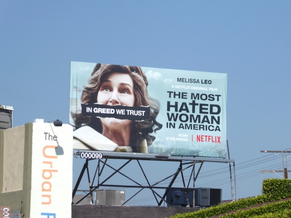 Most Hated Woman in America film billboard