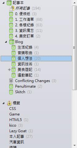 隨心雜窩: 【精簡整理】電腦檔案夾、Chrome書籤、Evernote、Dropbox