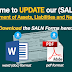 Updating of SALN (download forms here)