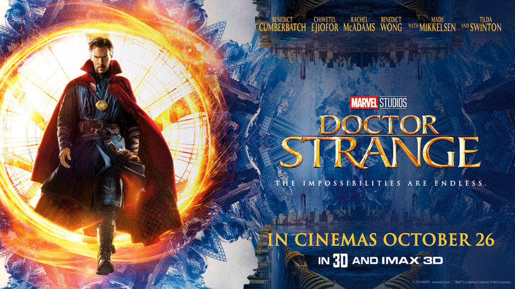 Doctor Strange The Movie - passing through a portal