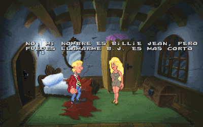 Pantallazo videojuego Drascula