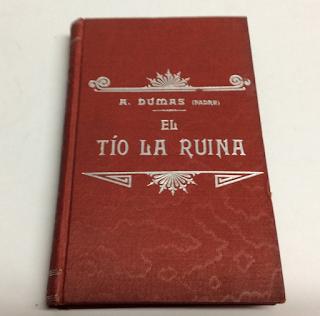 El Tio la Ruina Alejandro Dumas