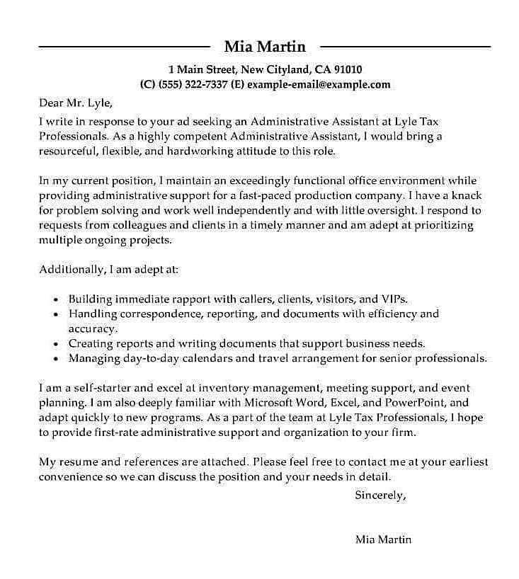 5 Contoh Surat Lamaran Kerja Staff Administrasi Yang Baik