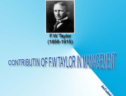 henry fayol fw taylor Fayolism was a theory of management that analyzed and synthesized the role of management in organizations, developed around 1900 by the french management theorist henri fayol (1841-1925) it was through fayol's work as a philosopher of administration that he contributed most widely to the theory and practice of organizational management.