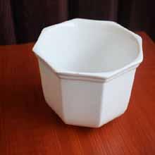 White Ceramic Decorative Mini Vase in Port Harcourt, Nigeria
