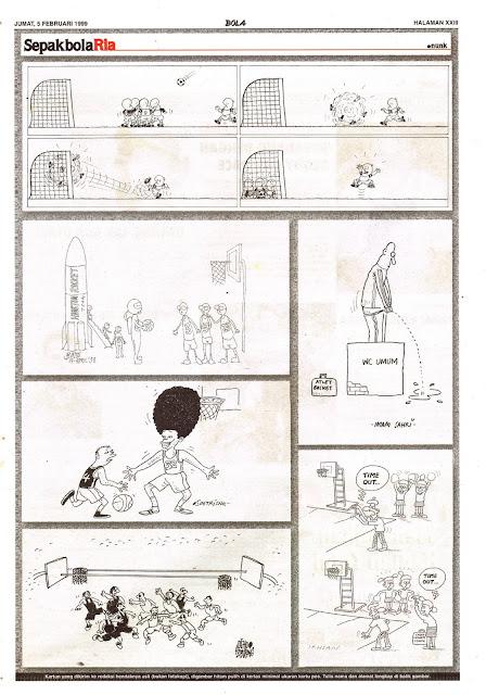 Sepakbola Ria EDISI JUM'AT, 5 FEBRUARI 1999