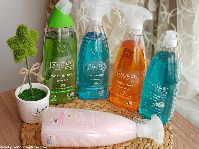 viking premium temizlik ürünleri