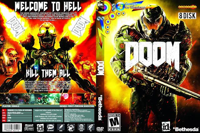 Capa Doom 2016 PC