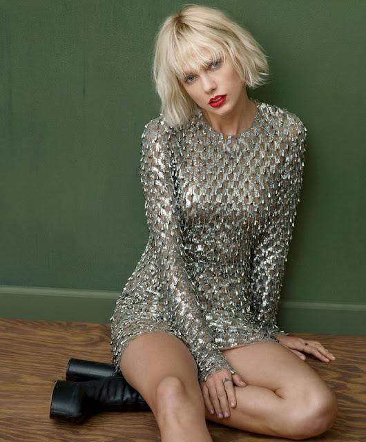 Taylor Swift posa para la nueva edición de la revista Vogue (FOTOS)