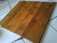 Jenis lantai kayu solid jati
