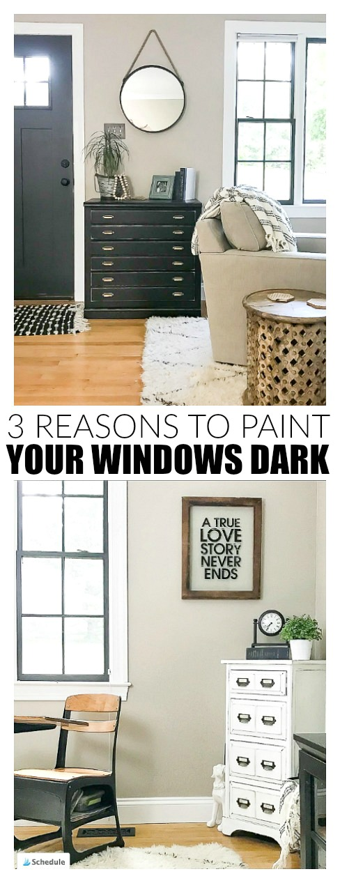 3 reasons why you should paint your windows dark