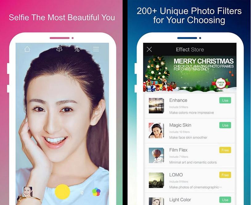 aplikasi kamera yang sering dipakai artis untuk selfie