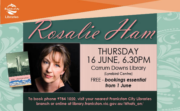 Author Talk with Rosalie Ham