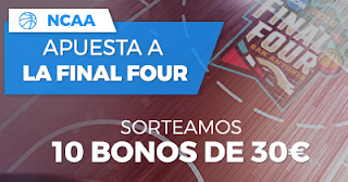 Paston Promoción: Sorteo Final Four NCAA 2 abril