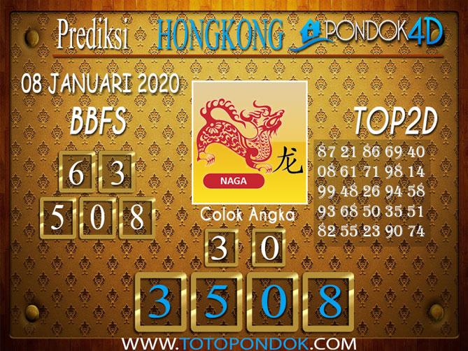 Prediksi Togel HONGKONG PONDOK4D 08 JANUARI 2020