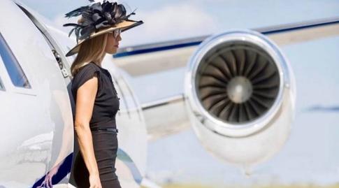 Mau Foto Ala Seleb Kaya Di Instagram? Bisa Sewa Jet Pribadi Di Rusia