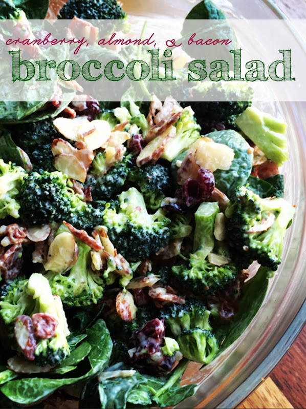 Greek Yogurt Broccoli Salad