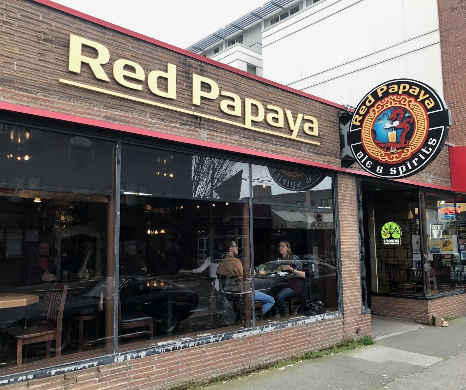 Seattlebars org: #1770 #S1023 - Red Papaya, Seattle - 4/29/2012