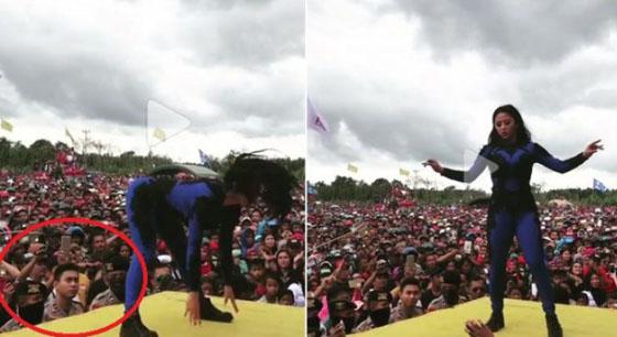 Video Goyangan Hot Dewi Perssik di Sulawesi