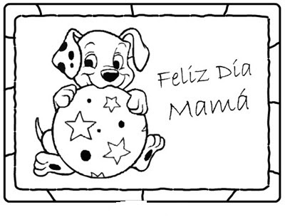 Dibujo De Felicidades Para El Día De Las Madres Colorea El