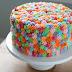 Если бы импрессионисты оформляли торты, они делали бы это таким образом. .  Пестрота расположенных в беспорядке...