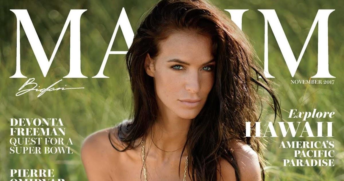 Jade Lagardere bares it all for Maxim Magazine November 2017