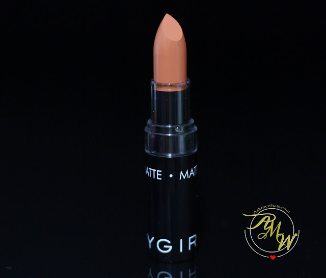 a photo of SilkyGirl Go Matte LipColor in Nearly Nude