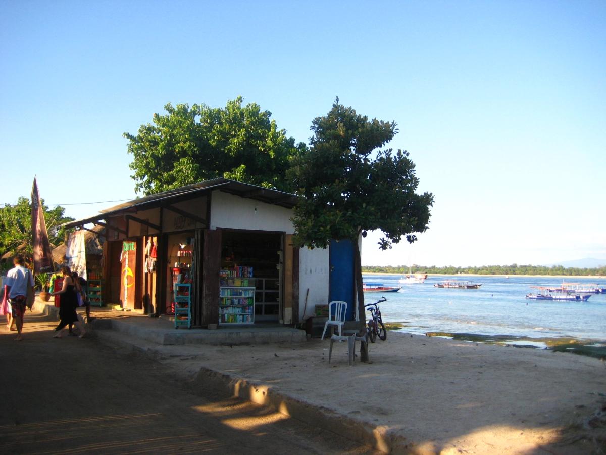 길리 해변건물